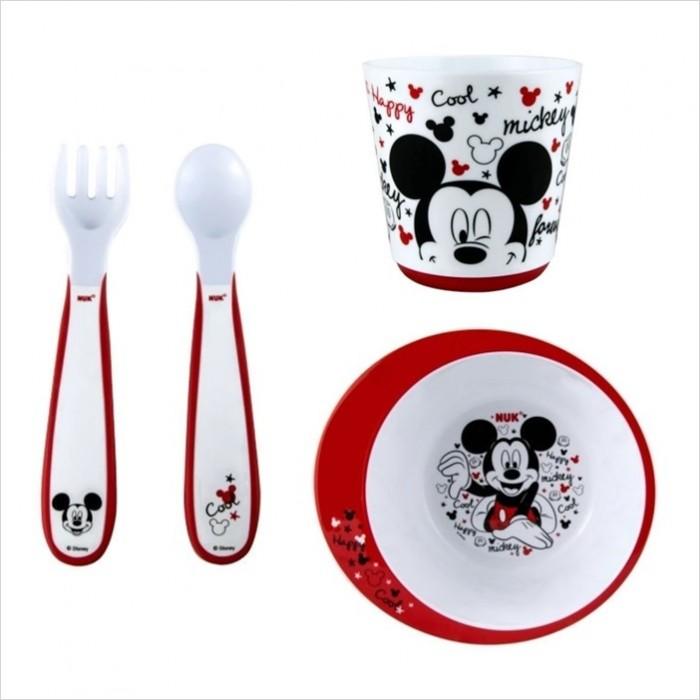 & NUK - Disney Tableware Set (Mickey Mouse) *BEST BUY*