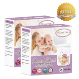 Autumnz -Double Zip Lock Breastmilk Storage Bag (2 PACKS) *5oz(28 bags)*