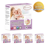 Autumnz -Double Zip Lock Breastmilk Storage Bag (5 PACKS) *5oz(28 bags)*
