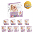 Autumnz -Double Zip Lock Breastmilk Storage Bag (10 PACKS) *5oz(28 bags)*