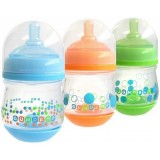 The First Years - Gumdrop Wide Neck Anti-Colic 4oz (3pk) Blue/Green/Orange