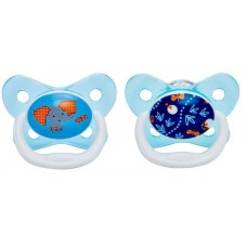 Dr Brown's - Prevent Butterfly Shield Stage 2 Pacifier - Blue (2 PCS) *6-12M*