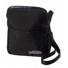 Dr Brown's - Insulated Bottle Tote Bag (Cool or Warm) *Black*