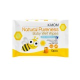 K-MOM - Natural Pureness Baby Wet Wipes (10pcs) *BEST BUY*
