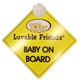Luvable Friends - Baby On Board *77002*