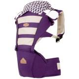 I-Angel - Mesh Hip Seat Carrier *Violet*