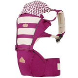 I-Angel - Mesh Hip Seat Carrier *Plum*