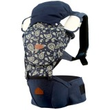 I-Angel - Denim Hip Seat Carrier *Paisley B*