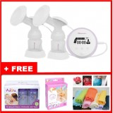 Autumnz - ESSENTIAL Double Electric Breastpump w FREE GIFTS total worth RM81.40