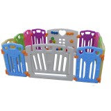 Hailey - Safety Play Fence (10 + 2) *FOC 1 pack of Colorful plastic balls worth RM19.90 (while stock last)*