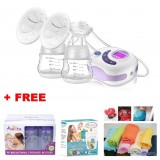 Autumnz - SERENE Convertible DoubleElectric /Manual Breastpump w FREE GIFTS total worth RM79.40