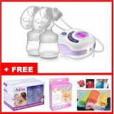 Autumnz - SERENE Convertible DoubleElectric /Manual Breastpump w FREE GIFTS total worth RM81.40