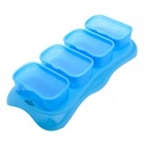 * EASY Breastmilk & Baby Food Storage Cups (4oz) *Ocean Blue* BEST BUY