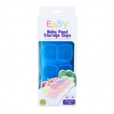 * EASY Breastmilk & Baby Food Storage Cups (2oz) *Ocean Blue* BEST BUY