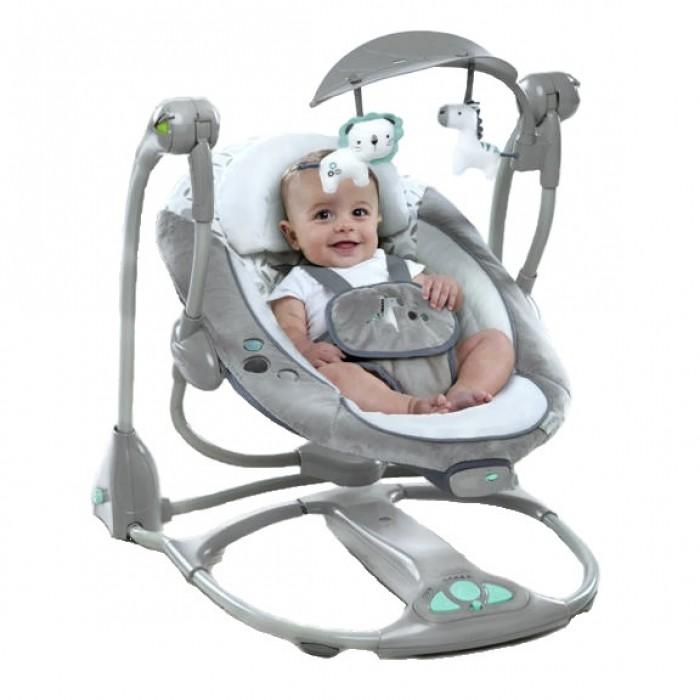 ingenuity cradle & sway swing instructions