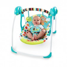 Bright Starts - Kaleidoscope Safari Portable Swing *BEST BUY*