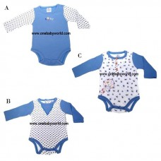 ABaby - Baby Body Suit 1pc (Long Sleeve) *Surf* BEST BUY