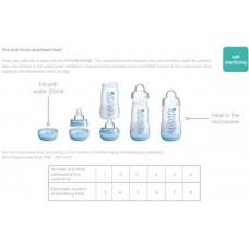 MAM - Easy Start Anti Colic Bottle (11oz/320ml) *TWIN PACK* Ivory