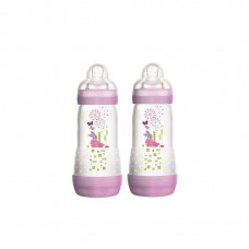MAM - Easy Start Anti Colic Bottle (11oz/320ml) *TWIN PACK* Purple