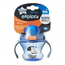 Tommee Tippee - First Trainer Cup / Sippee Cup 150ml (4m+) *Blue*