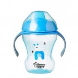 Tommee Tippee - Easy Drinking Cup / Training Sippee Cup 230ml (7m+) *Blue*