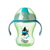 Tommee Tippee - Easy Drinking Cup / Training Sippee Cup 230ml (7m+) *Green*