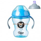 Tommee Tippee - 2 Stage Easy Drink Cup 230ml (7m+) *Blue*