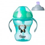 Tommee Tippee - 2 Stage Easy Drink Cup 230ml (7m+) *Green*