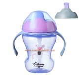Tommee Tippee - 2 Stage Easy Drink Cup 230ml (7m+) *Purple*