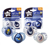 Tommee Tippee - CTN Night Time Soother (6-18 mths) *TWIN PACK*