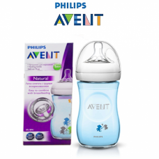 Philips Avent - Bottle Natural 260 ML/9OZ - Monkey *Boy* (Single Pack)