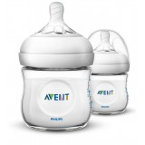 Philips Avent - Bottle Natural 2.0 *125 ML/4OZ* Twin Pack