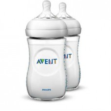 Philips Avent - Bottle Natural 2.0 *260 ML/9OZ* Twin Pack