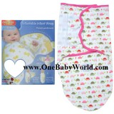 Hug Me Adjustable Infant Wrap - Walk With Me *Pink*