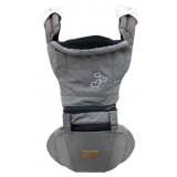 Baby Love - Urban Kangoo 2.0 Baby Hipseat + Carrier *Funky Grey*