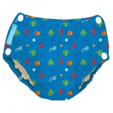 Charlie Banana - 2-in-1 Swim Diapers & Training Pants w Snaps (Under The Sea)