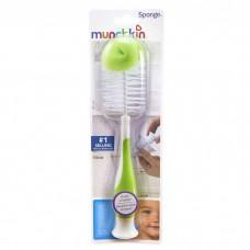 Munchkin - Sponge Bottle Brush (Green)