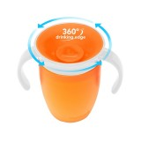 Munchkin - Miracle® 360° Trainer Cup 7oz (Orange)
