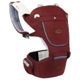 I-Angel - Hello Hip Seat Carrier *Melange Red*