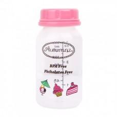 Autumnz - PP Breastmilk Storage Bottles (4 packs) - Sweeties *Baby Pink*