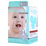 Simba - Mother's Touch Standard Neck Cross Hole Anti-Colic Nipple 1pc - S (0-3M)