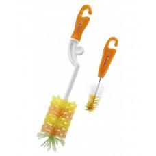 Simba - Rotary Silicone Bottle Brush *Orange*
