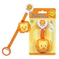 Simba - Pacifier Strap / Case *Orange*
