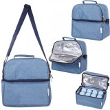 Autumnz - Deluxe Cooler Bag *Oxford* (Sky Blue)