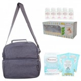 Autumnz - Deluxe Cooler Bag Complete Set *Oxford* (Grey)