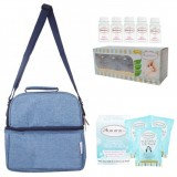 Autumnz - Deluxe Cooler Bag Complete Set *Oxford* (Sky Blue)