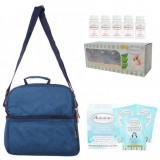 Autumnz - Deluxe Cooler Bag Complete Set *Oxford* (Lake Blue)