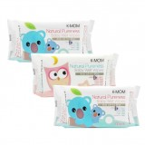K-MOM - Natural Pureness Baby Wet Wipes (100pcs X 3) *BEST BUY*