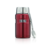 Thermos - 710ml/24oz Stainless King Food Jar w Spoon *Red* (SK-3020)