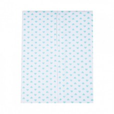 Autumnz - Swaddle Pouch (Turquoise Hearts) *Size S*